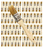 Pro Grade - Chip Paint Brushes - 96 Ea 1 Inch Chip