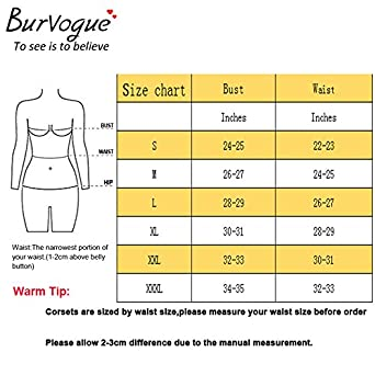 Burvogue Womens Gothic Steampunk Corsets and Bustiers Dress Green
