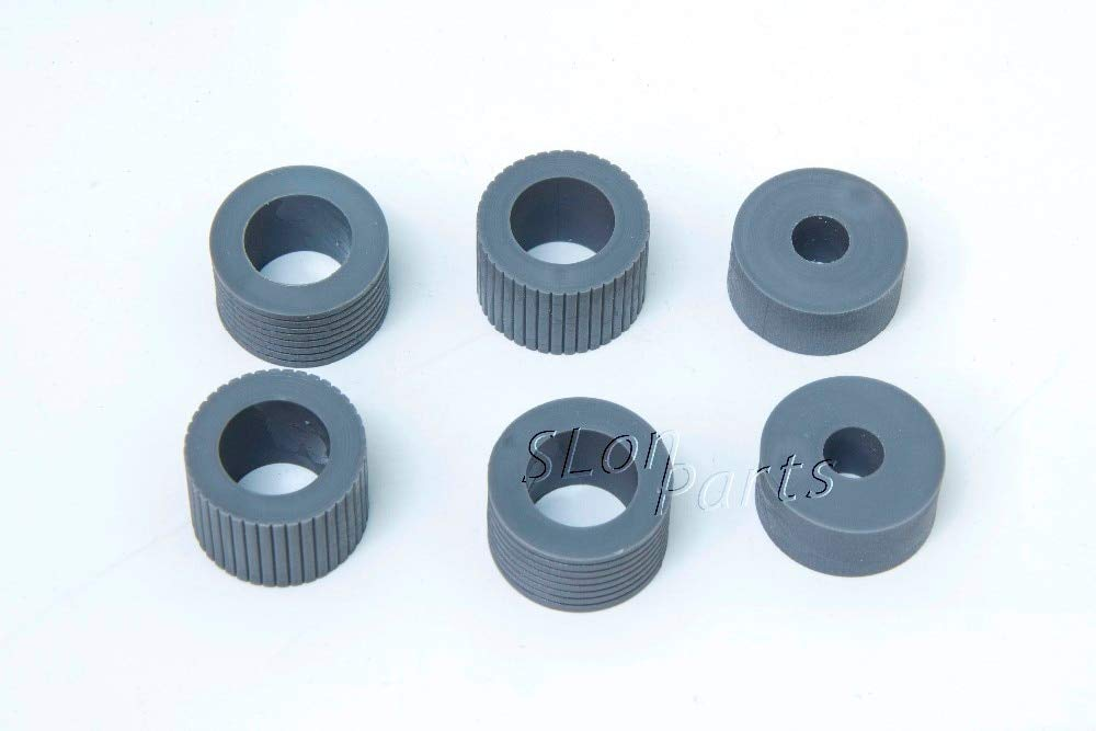 Printer Parts PA03338-K011 PA03576-K010 for Fujitsu Fi-5750C Fi-5650C Fi-6670 Fi-6670A Fi-6770 Fi-6770A Fi-6750S Brake Pickup Roller Tire by Yoton (Image #5)