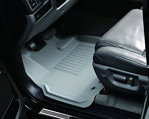 Gray Kagu Rubber 3D MAXpider Front Row Custom Fit All-Weather Floor Mat for Select Volkswagen Jetta Models L1VW00811501