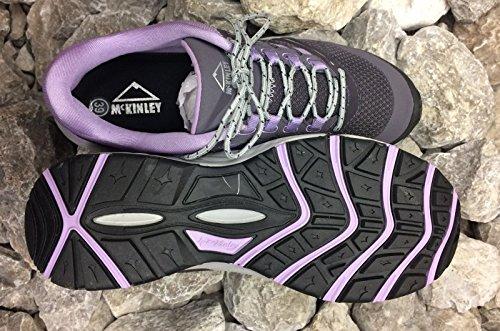 McKinley Damen Multifunktions-Schuh Niva W Wander- Trekkingschuhe Grau/Lila Neu