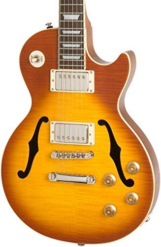 Florentine Cutaway (Les Paul Standard Florentine PRO Hollowbody Electric Guitar Honey Burst)