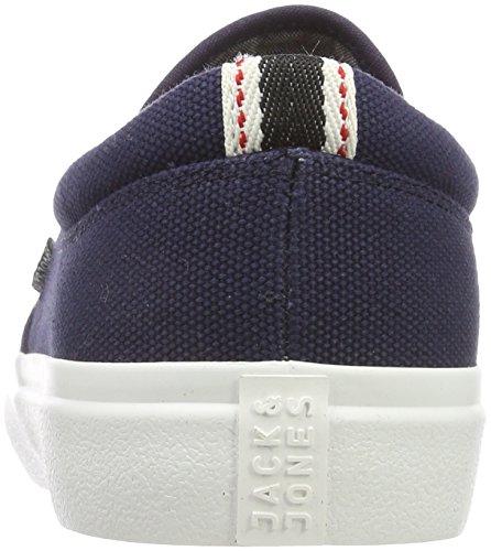 Jfwrush Blazer amp; Chambray Jones Jack Sneakers Blazer Basses Mix Bleu Navy Homme Navy xaFREwZ