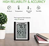 VIVOSUN 2 Pack Digital Indoor Thermometer and