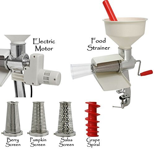 Victorio 250 Food Strainer Complete (3) by Victorio