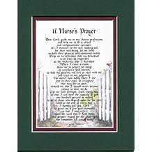 A Gift Poem For A Nurse. A Nurse's Prayer #167, Present For Graduating From Nursing School