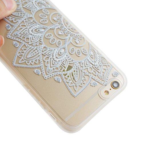 Voguecase® für Apple iPhone 6/6S 4.7 (4,7 zoll) hülle, Schutzhülle / Case / Cover / Hülle / TPU Gel Skin (Lace Teppich 07) + Gratis Universal Eingabestift