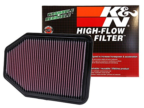 K&N 33-2364 High Performance Replacement Air Filter for 2007-2016 Jeep Wrangler JK 3.6L V6 2012 Jk Wrangler