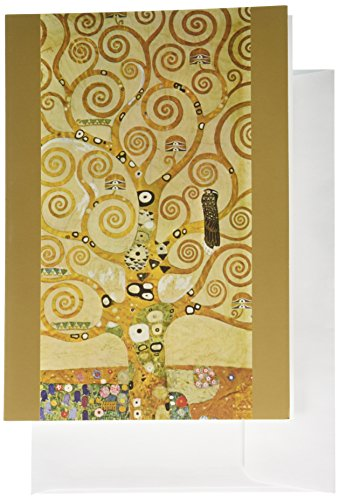 Nouvelles Images Holiday Boxed Note Card Set, Frieze 1, Gustav Klimt (XDB 430)