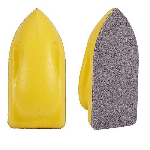 Jscarlife - Esponja de limpieza mágica y almohadillas para orejas para estropajo, mejor para pulir, limpiar y limpiar el...