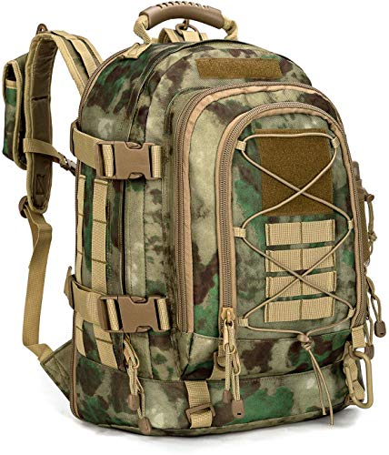 Paladins Backpack Large Work Backpack Military Camo Backpack Molle System Waterproof for Men