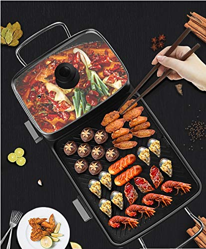 Multi-function Non-Stick Electric Hot Pot by BXB | Korean Style BBQ Hot Pot | Shabu-Shabu Barbecue Dish Electric Cooker by SHOPBXB (Image #7)'