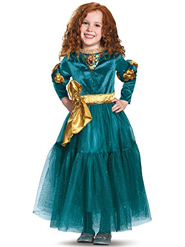 Merida Deluxe Disney Princess Brave Disney/Pixar Costume, Medium/7-8 ()