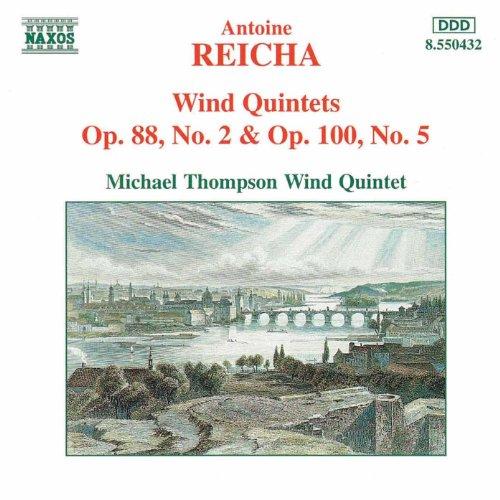Reicha: Wind Quintets, Op. 88, No. 2 And Op. 100, No. 5 ()
