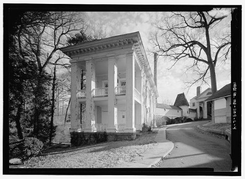 HistoricalFindings Photo: National Park Seminary,Colonial House,2745 Dewitt Circle,Silver Spring,MD,3