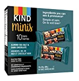KIND Bar Minis, Almond, Sea Salt & Dark Chocolate, Box of 10