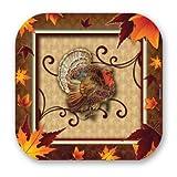 Fall Turkey 7 Plate 8 Ct,Axiom International,73922