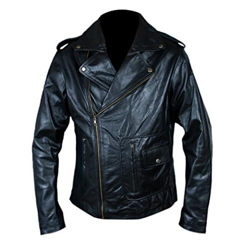 amp;h Travolta Birds Genuine Men's Danny John Leather Zuko F Grease T q6U7ndwfx