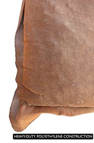 Sandbaggy - 17'' x 27'' Long-Lasting Sandbags - Brown Color - Lasts 1-2 Yrs - Monofilament (Pack of 100) by Sandbaggy (Image #4)