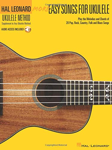 More Easy Songs For Ukulele Book/Online Audio : Book/CD Hal ...