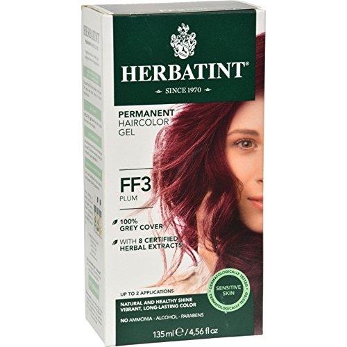 Herbatint Haircolor Kit Flash Fashion Plum FF3 - 1 Kit
