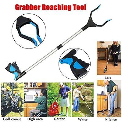 '32inch Reaching Grabber Tool Reacher Handicap Grip Aid Trash Pick Up Easy Reach'