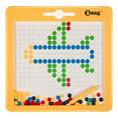 BMAG Magnetic Drawing Pad, Creative Doodle Board Toys, Magnetic M&M Dots Drawing - Magnetic Kids Creative Toys