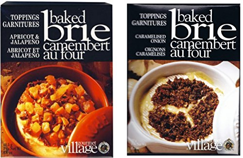 Gourmet Baked Brie Topping Mix Variety Bundle