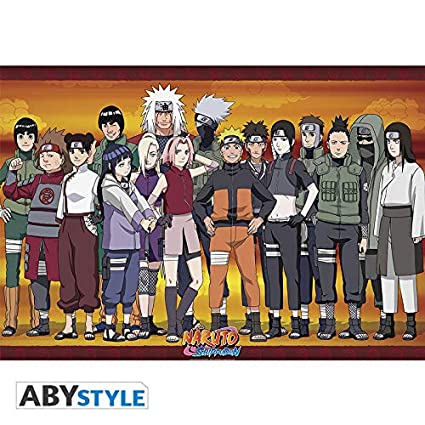 ABYstyle Abysse Corp_ABYDCO493 Naruto Shippuden - Póster ...