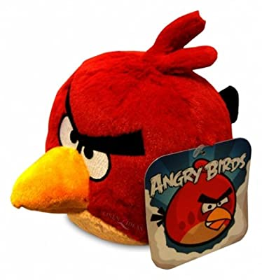 Angry Birds 16 Plush Red Bird by Commonwealth Toy