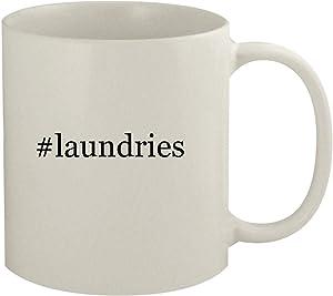#laundries - 11oz Hashtag White Coffee Mug