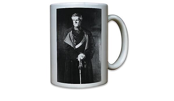 Edwin Karl Rochus Freiherr von Manteuffel Prusia General feldmarschall Portrait con EK de Gemälde - Taza de café taza # 10725: Amazon.es: Hogar