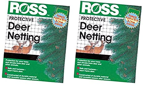 (2 Pack) Easy Gardener Ross 7 By 100 Foot Deer Netting