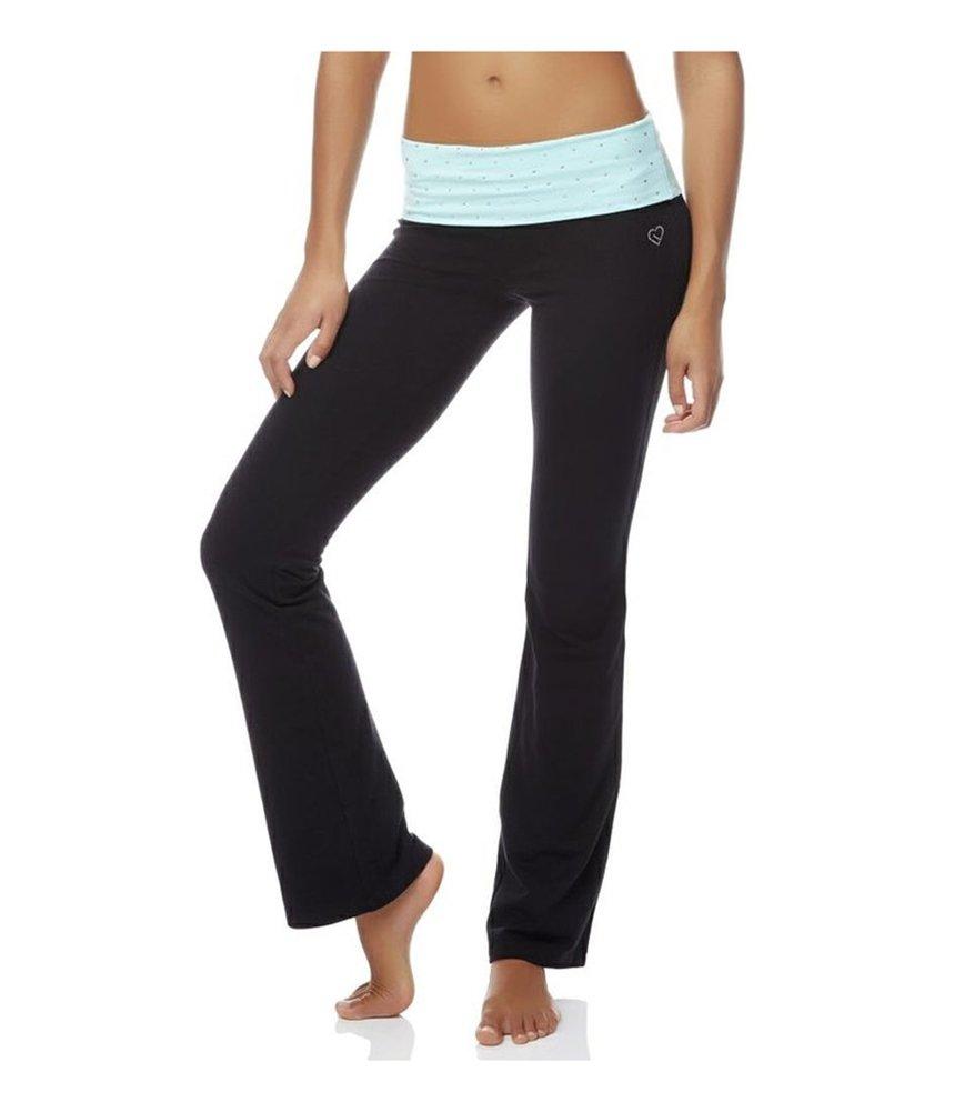 Aeropostale Womens Bootcut Athletic Track Pants Green L/32 - Juniors