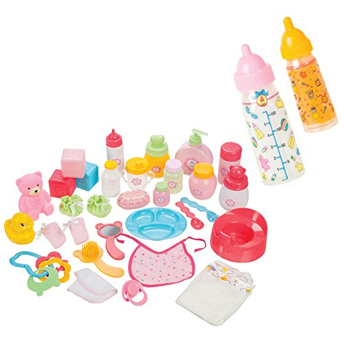 Toysmith Baby Care Sets and My Sweet Baby Magic Baby Bottles Bundle