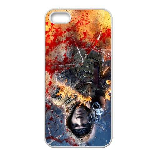 Survarium coque iPhone 4 4s cellulaire cas coque de téléphone cas blanche couverture de téléphone portable EEECBCAAN07379