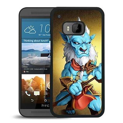 Unique HTC ONE M9 Dota 2 Phantom Lancer Black Screen Phone Case Luxury and Cool Design