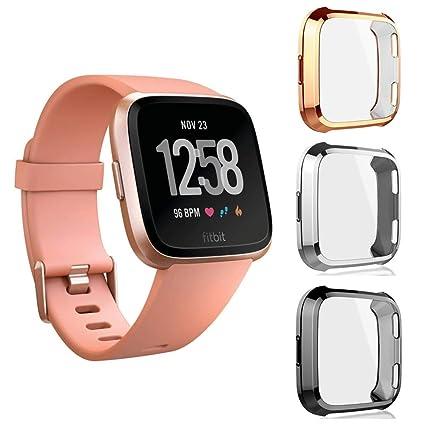 Amazon.com: GOOIG - Funda protectora de pantalla para Fitbit ...