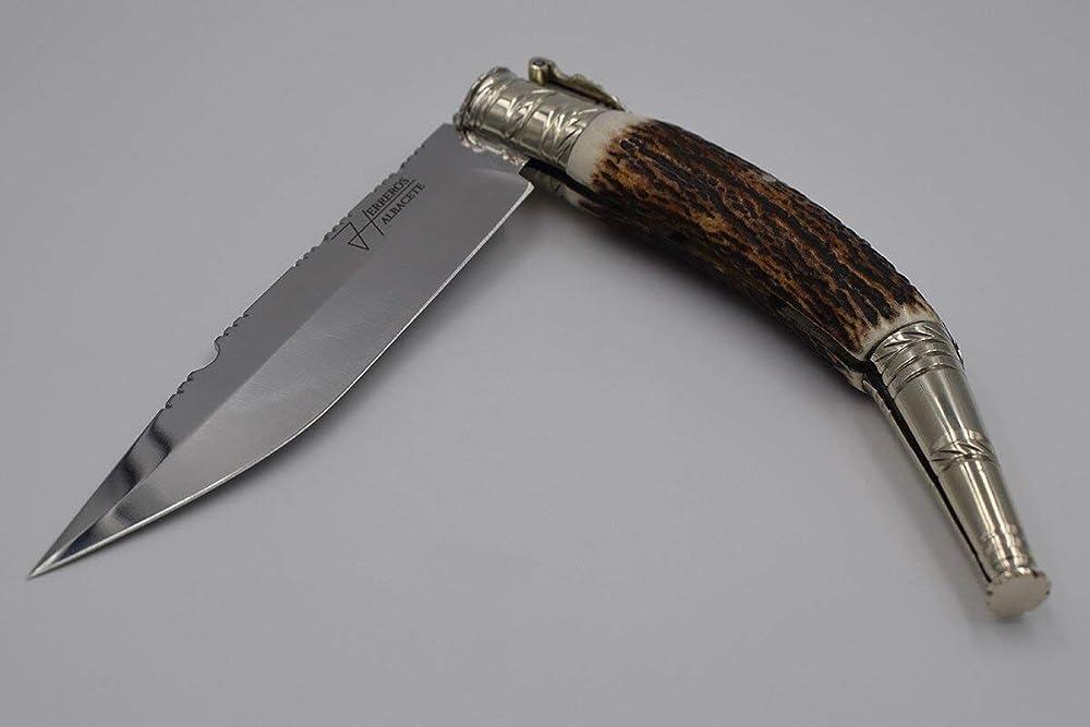 Navaja clásica estilo Bushcraft: Amazon.es: Handmade