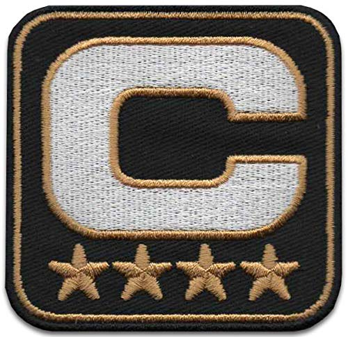 Iron On Patches - Stars Captain Leader Iron On Patch Embroidered Applique Star Logo 3