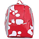 Orgrimmar Diaper Tote Bags Larger Capacity Baby Nappy Bag Fashion Mummy Backpack (feet)