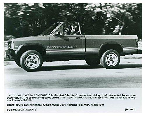 1989 Dodge Dakota Convertible Droptop Truck Photo Poster