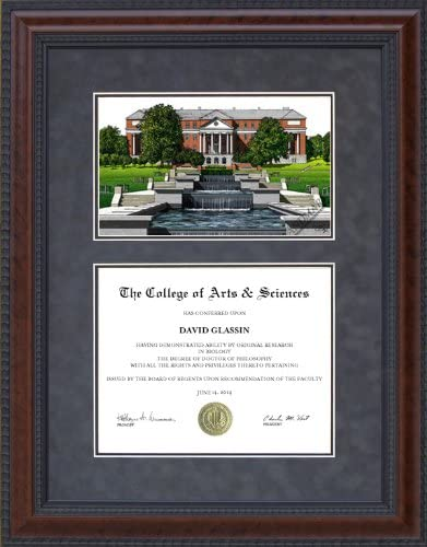 Amazon Com Wordyisms Diploma Frame With University Of Maryland College Park Umd Lithograph Sports Fan Diploma Frames Sports Outdoors