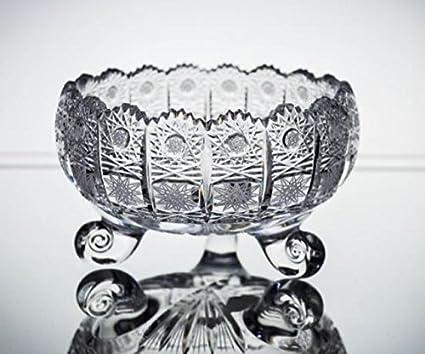 Amazon Bohemia Crystal Glass Vase Bowl 6 Dia Decorative