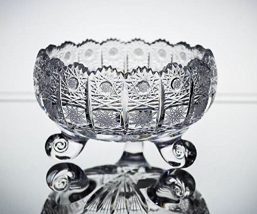 Republic Bowl Fruit (BOHEMIA CRYSTAL GLASS VASE-BOWL 6