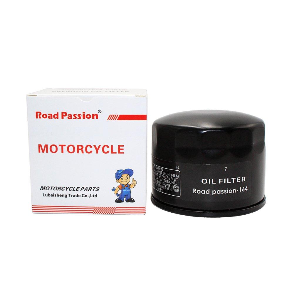 Road Passion Filtro de aceite para BMW R1200 HP2 SPORT 08-10 R1200R 07-12 R1200R CLASSIC 2011 R1200RT 05-13 R1200S 09-11 R1200GS 10-12 R1200GS ADVENTURE 05-12