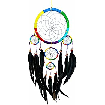 Handmade Dream Catcher Hanging Ornament - Long Feathers ( with a Betterdecor Gift Bag)