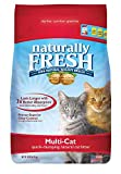 Naturally Fresh Walnut-Based Multi-Cat Household Quick-Clumping Cat Litter, 14 lb