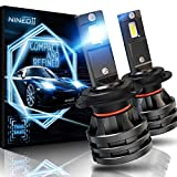 Best H7 Bulbs - NINEO H7 LED Headlight Bulbs w/Small Size,10000LM 6500K Review