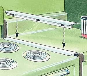 Amazon Com White Oven Spill Guard Home Improvement